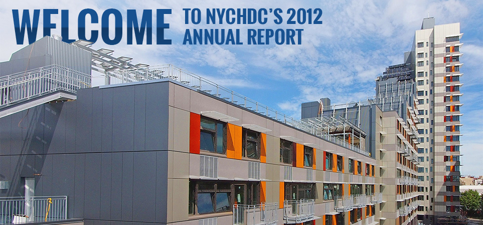 Welcome To NYCHDC's 2012 Annual Report